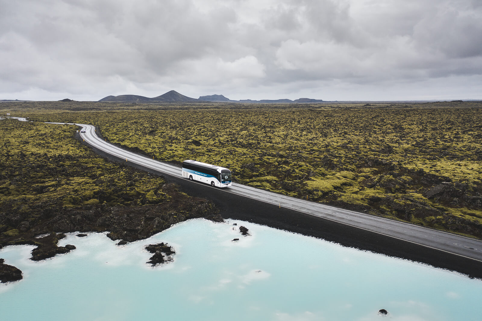 Bus transfer to Blue Lagoon Iceland