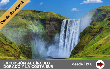 excursion islandia sur circulo dorado