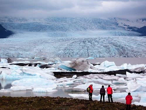 laguna glaciar Fjallsarlon