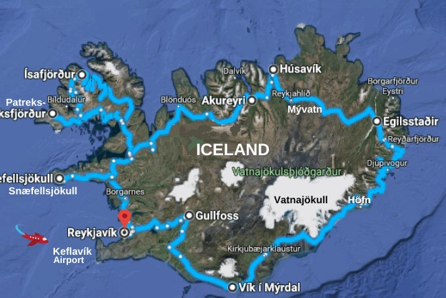 See all of Iceland when you rent a motorhome in Iceland.