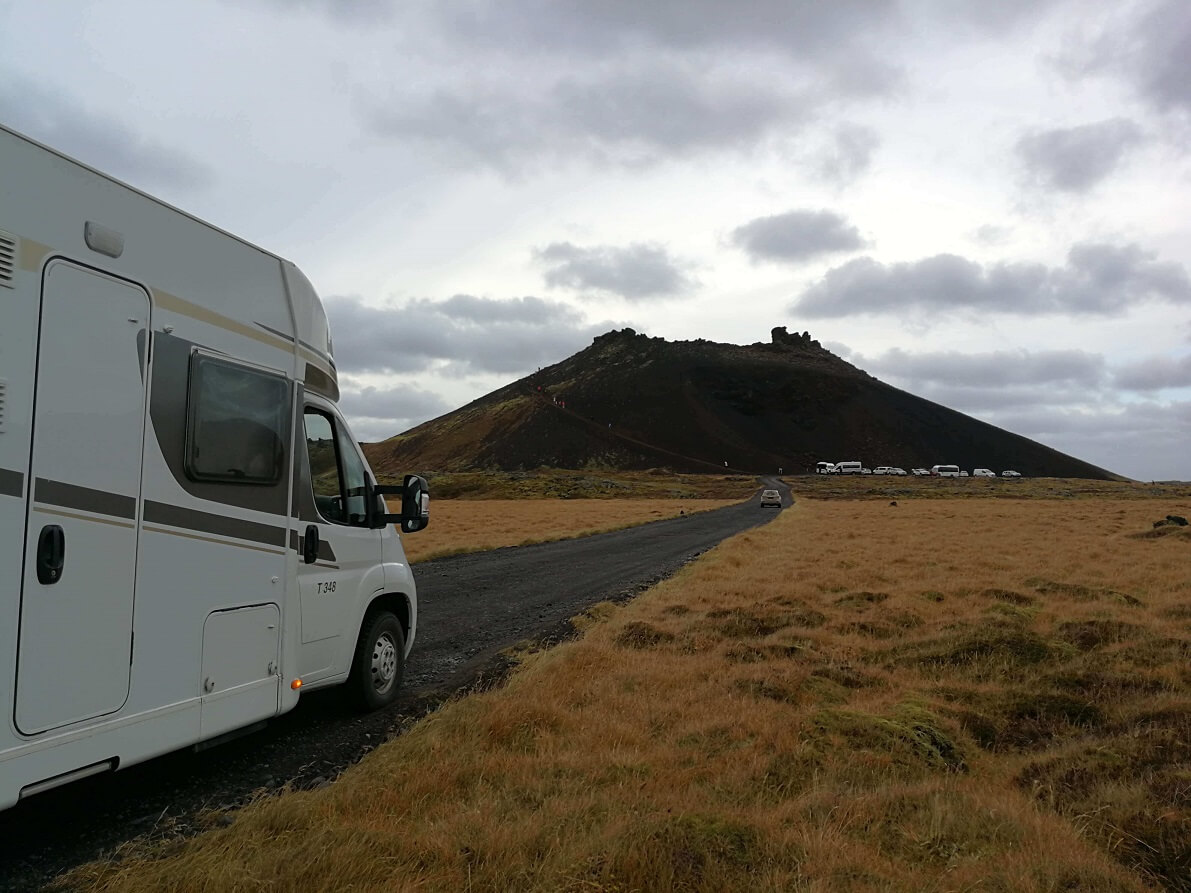 Your motorhome rental in Iceland will take you further and let you see more than you can with any other form of travel.