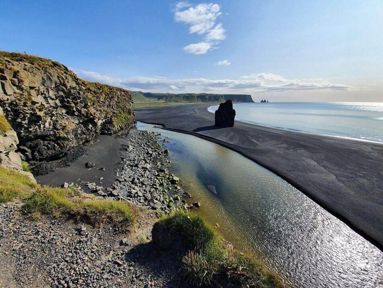 See the stunning South Coast in Iceland by motorhome and enjoy your coronavirus free holiday in Iceland.