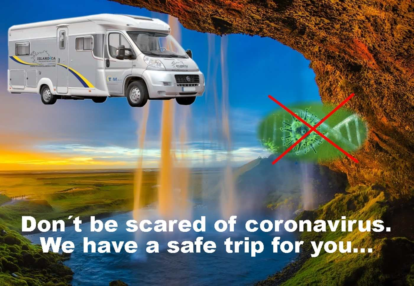 Do not be afraid of the coronavirus and come to Iceland, we have the perfect trip for you and your safety!