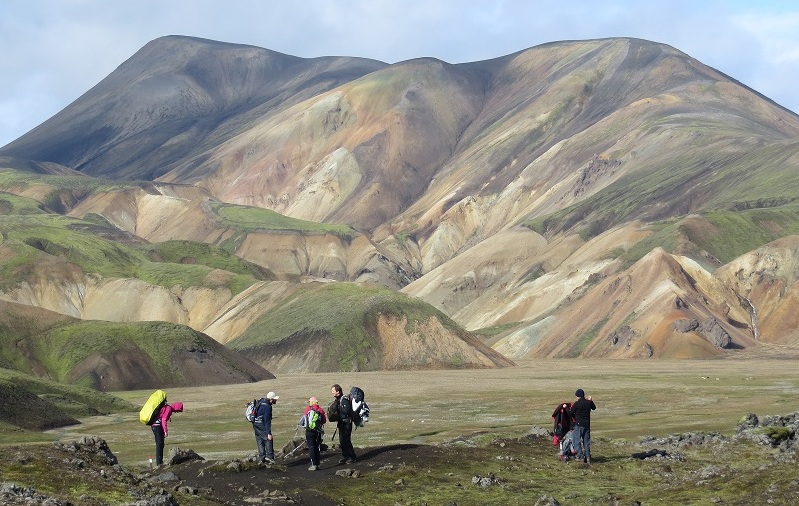 excursion trekking landmannalaugar