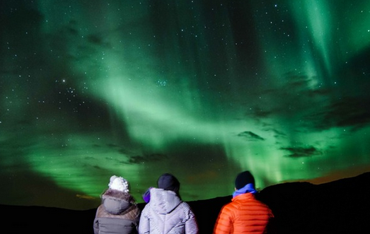 excursion auroras jeep islandia