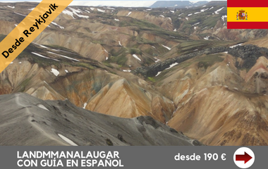 excursion landmannalaugar islandia