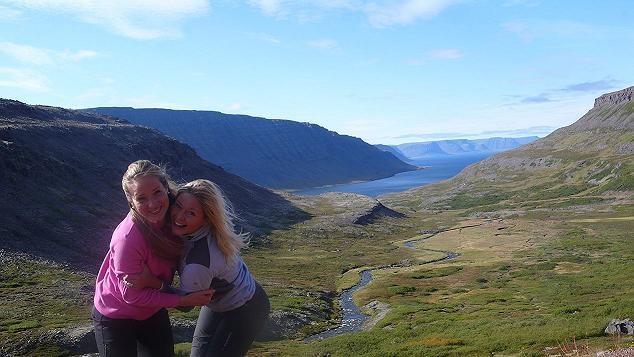 foto de los fiordos occidentales de Islandia
