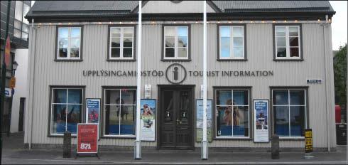 Oficina de turismo en Reykjavík