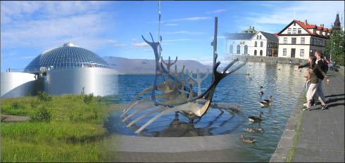 imagen de Reykjavík-Pertlan-barco vikingo